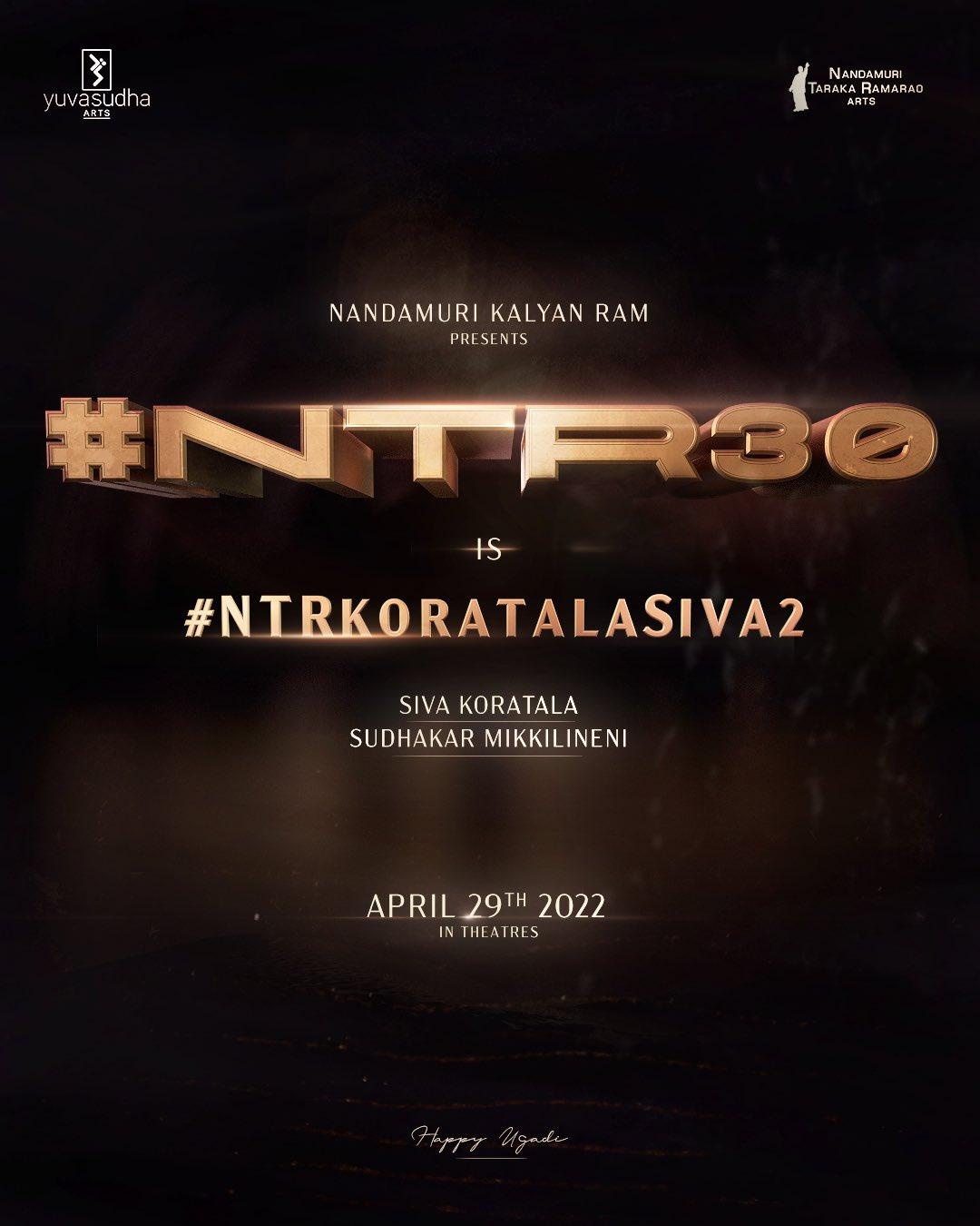 #NTR30