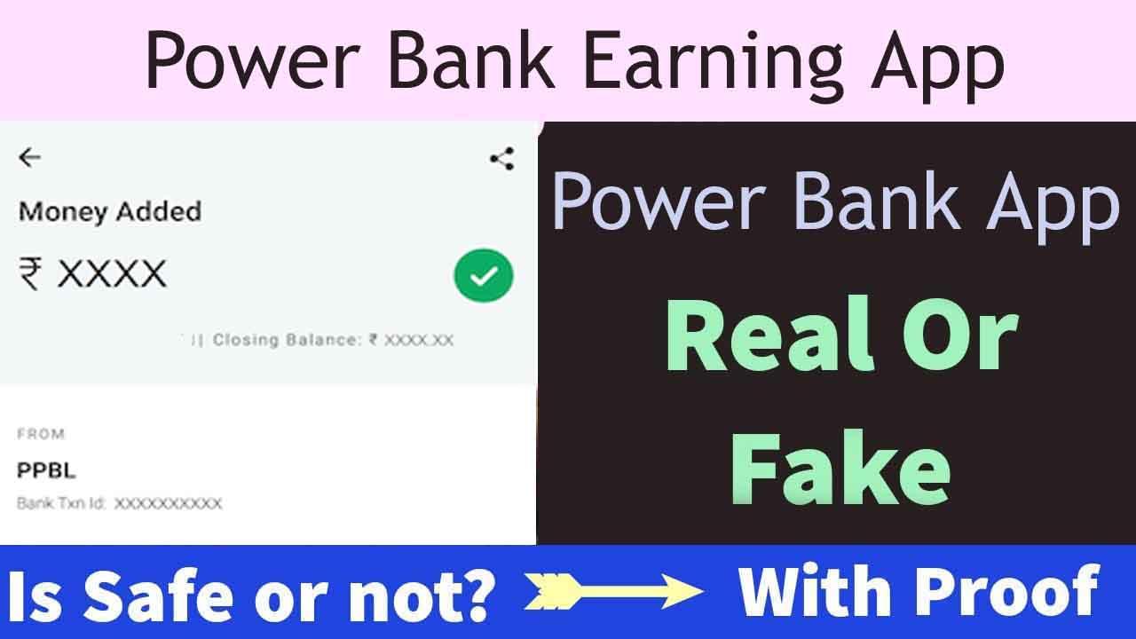 Poer-Bank-earning-app - FAKE