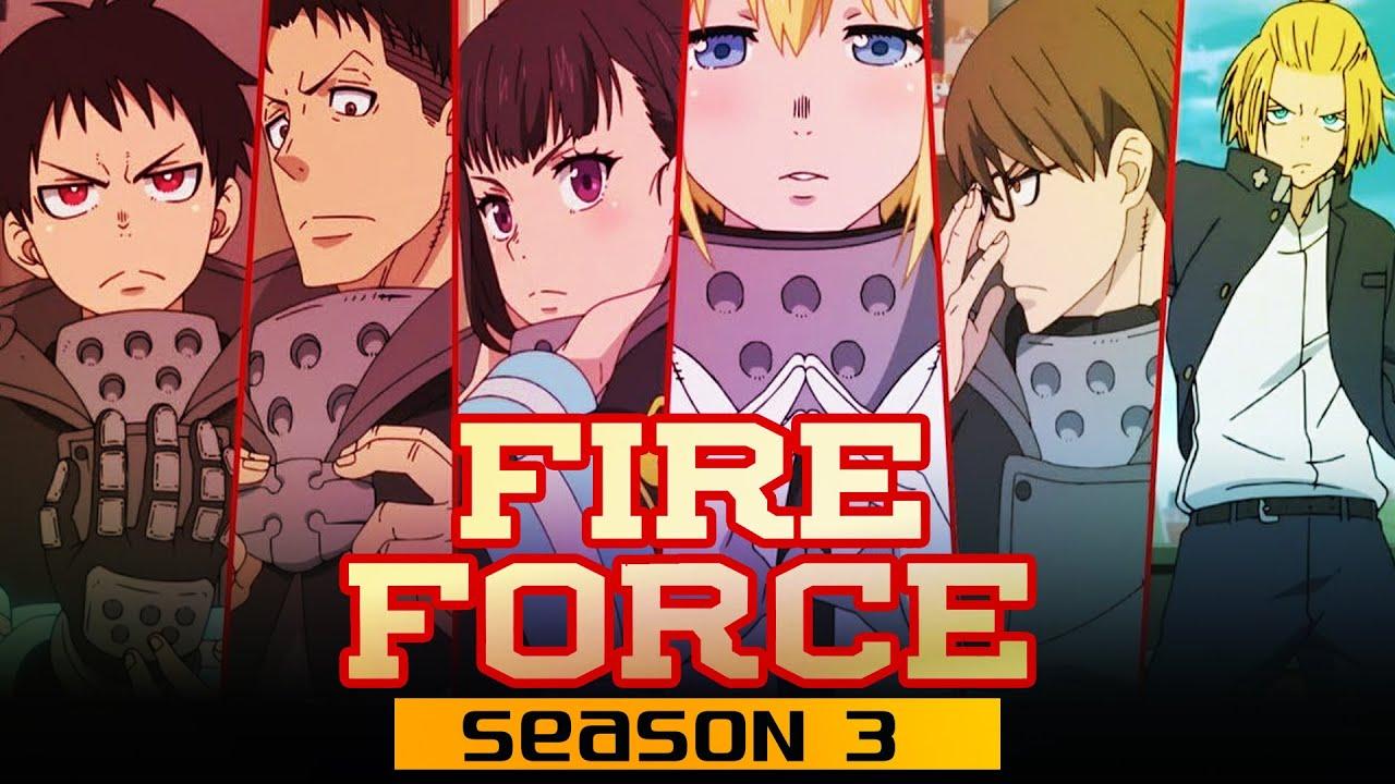 Fire Force Season 3: Renewal Status & Release Date