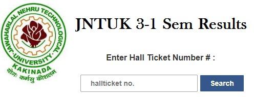 JNTUK B.Tech 3-1 Sem (R16,R13,R10) Regular/Supply Results March 2021